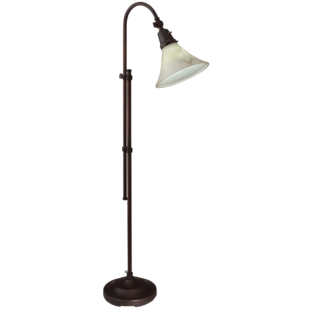 ottlite model 20318s62 20w lexington floor lamp. Black Bedroom Furniture Sets. Home Design Ideas