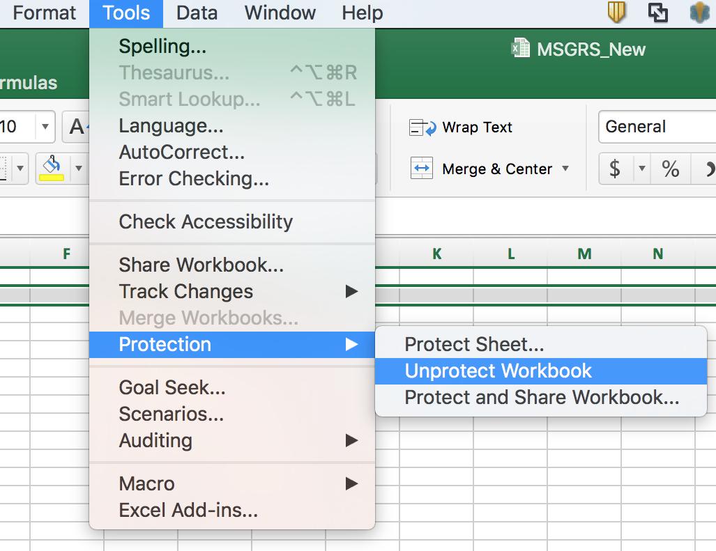 Workbooks how to protect excel workbook : Excel 2016 - Workbook Protected